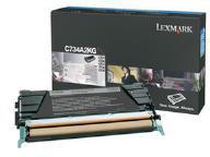 Lexmark 0C734A2KG Black Toner Cartridge (8,000 Pages)