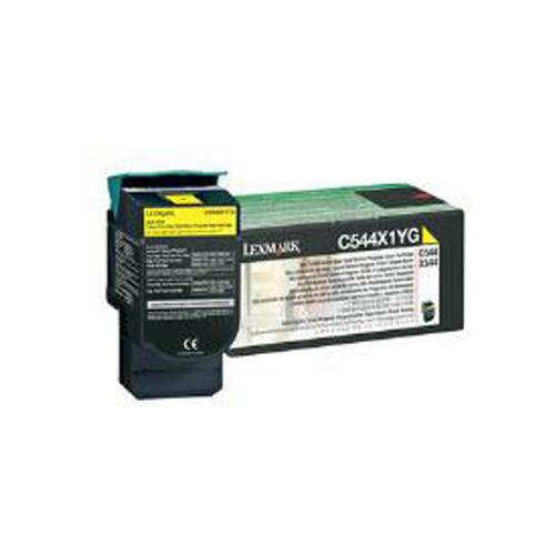 Yellow Extra High Yield Return Program Toner Cartridge (4,000 Pages)