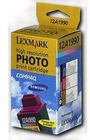 Lexmark 12A1990 No 90 High Resolution Colour Photo ink Cartridge (450 Sheets)