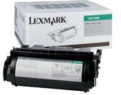 Lexmark 0012A7468 Black High Yield Prebate Print Toner Cartridge (21,000 Pages)