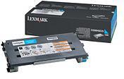 Lexmark 0C500H2CG Cyan High Yield Toner Cartridge (3,000 Pages)