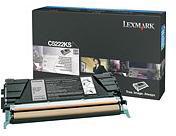 Lexmark 00C5222KS C522, C524, C53x Black Toner Cartridge (Yield 4,000 pages)