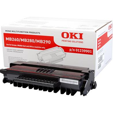 OKI 01239901 Standard Toner Cartridge (3,000 pages)