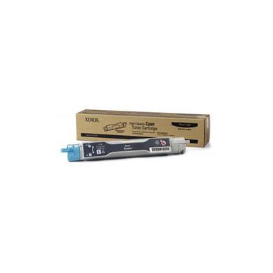 Xerox 106R01144 Cyan Hi Cap Toner Cartridge (10,000 Pages)
