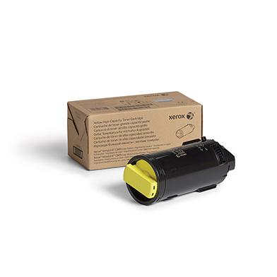 Xerox 106R03906 High Capacity Yellow Toner Cartridge (10,100 Pages)