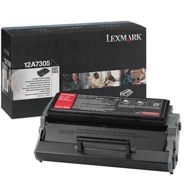 Lexmark 12A7305 High Capacity Black Toner Cartridge (6,000 Pages)