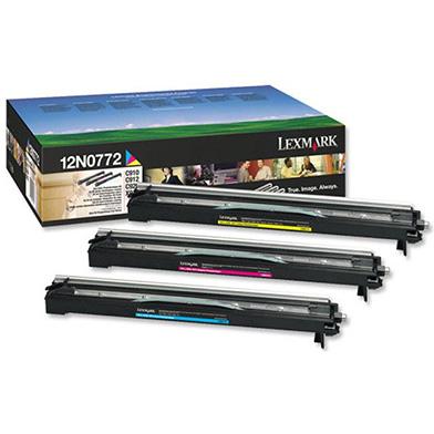 Lexmark 12N0772 Colour Developer Pack CMY (28,000 Pages)