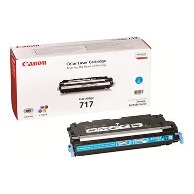 Canon 2577B002AA 717 Cyan Toner Cartridge (4,000 pages)