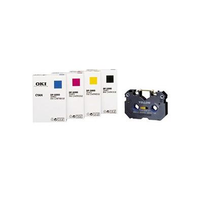 OKI 41067612 Dye-Sub Cyan Ink Cartridge DS-C-IC