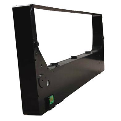 Tally 44A507014-G08B Black Fabric Cartridge with Weld Sensor Hole