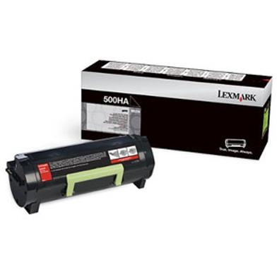Lexmark 50F0HA0 High Capacity Black Toner Cartridge (5,000 Pages)