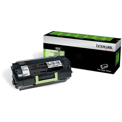 Lexmark 52D200E Black Toner Cartridge (6,000 Pages)