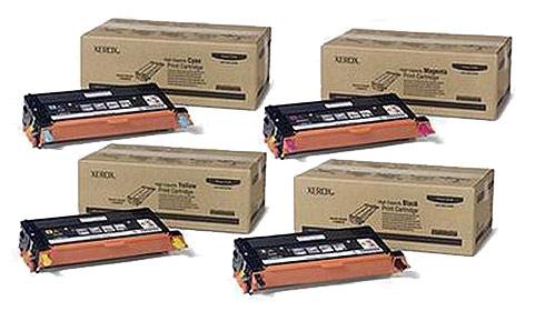 Xerox Toner Rainbow Pack CMY (6K) + Black (8K)
