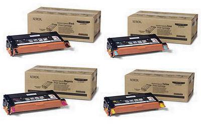 Xerox Toner Rainbow Pack CMY (2K) + Black (3K)
