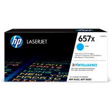 HP 657X Cyan High Yield Toner Cartridge (23,000 Pages)