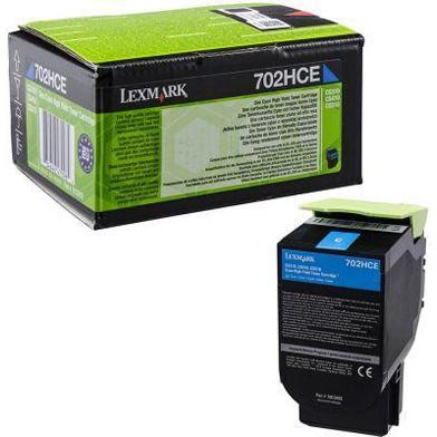Lexmark 70C2HCE High Capacity Cyan Toner Cartridge (3,000 Pages)