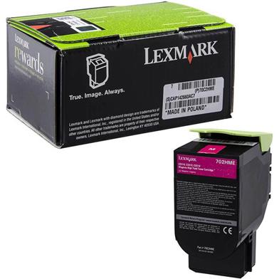 Lexmark 70C2HME High Capacity Magenta Toner Cartridge (3,000 Pages)