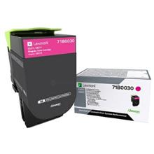 Lexmark 71B0030 Magenta Toner Cartridge (2,300 pages)