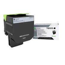 Lexmark 71B0X10 Black Toner Cartridge (8,000 pages)