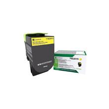Lexmark Yellow Return Programme Toner Cartridge (2,300 pages)