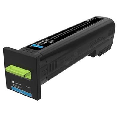 Lexmark 82K2XC0 Cyan Extra High Yield Return Programme Toner Cartridge (22,000 Pages)