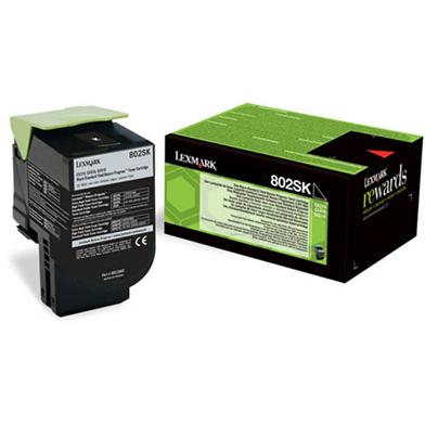Lexmark 80C2SKE Black Toner Cartridge (2,500 Pages)