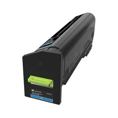 Lexmark 82K2UC0 Cyan Ultra High Yield Return Programme Toner Cartridge (55,000 Pages)