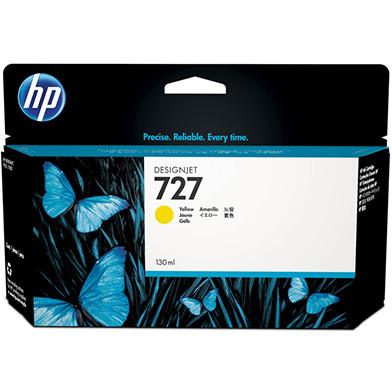 HP B3P21A 727 Yellow DesignJet Ink Cartridge (130ml)