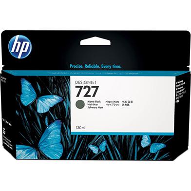 HP B3P22A 727 Matte Black DesignJet Ink Cartridge (130ml)