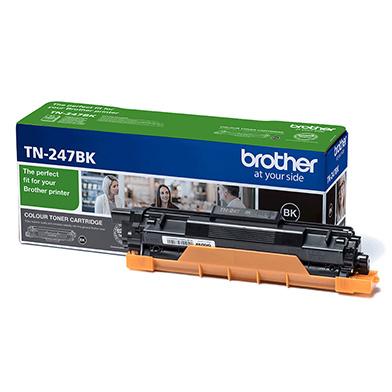 Brother TN-247BK Black Toner Cartridge (3,000 Pages)
