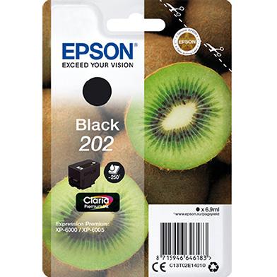 Epson Black 202 Claria Premium Ink (250 Pages)