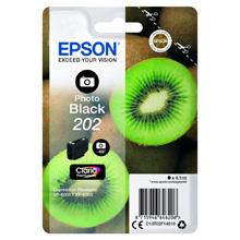 Epson Photo Black 202 Claria Premium Ink (400 Pages)