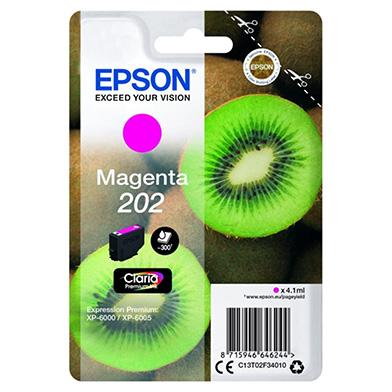 Epson Magenta 202 Claria Premium Ink (300 Pages)