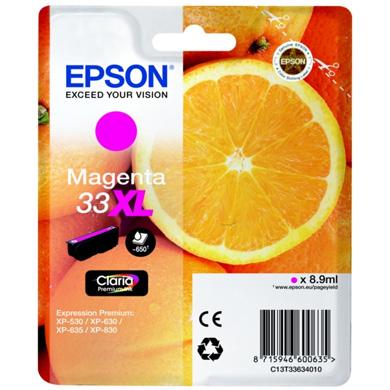 Epson Magenta No.33XL Claria Premium Ink