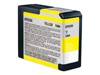 Epson Yellow T5804 UltraChrome Ink Cartridge (80ml)