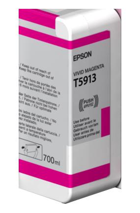 Epson Vivid Magenta T5913 Ink Cartridge