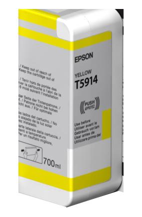 Epson Yellow T5914 Ink Cartridge