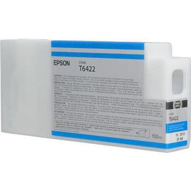 Epson Cyan T6422 Ink Cartridge (150ml)