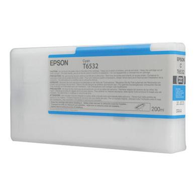 Epson Cyan T6532 200ml Ink Cartridge