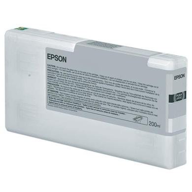 Epson Light Black T6537 200ml Ink Cartridge