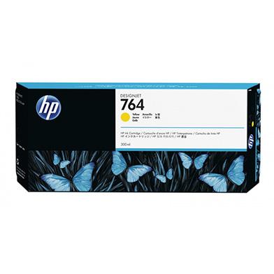 HP 764 Yellow DesignJet Ink Cartridge (300ml)