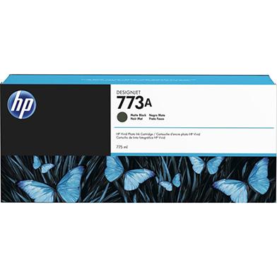 HP C1Q21A No. 773 Matte Black Ink Cartridge (775ml) for DesignJet Printers