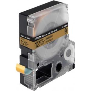 Epson Black/Gold 12mm (9m) Tape