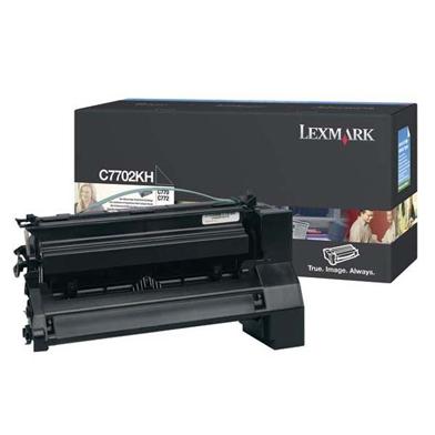Lexmark C7702KH High Yield Black Toner Cartridge (10,000 Pages)