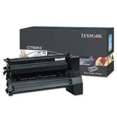 Lexmark C7702KS Black Toner Cartridge (6,000 Pages)