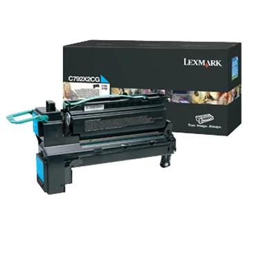 Lexmark C792X2CG Extra High Capacity Cyan Toner Cartridge (20,000 Pages)