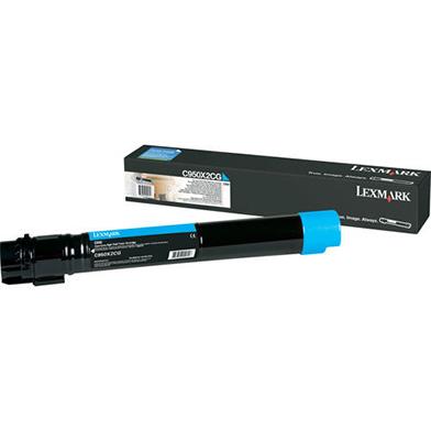 Lexmark C950X2CG Cyan Extra High Yield Toner Cartridge (22,000 pages)