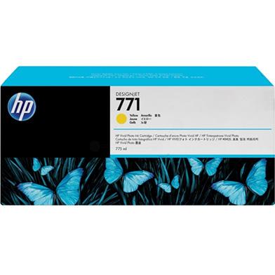 HP No. 771 Yellow Ink Cartridge (775ml) for DesignJet Printers