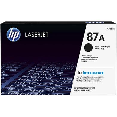 HP 87A Black LaserJet Toner Cartridge (9,000 Pages)