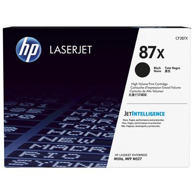 HP 87X Black LaserJet Toner Cartridge (18,000 Pages)
